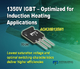 Alpha and Omega Semiconductor Announces Addition to 1350V IGBTs Family Optimized for Soft-Switching Applications